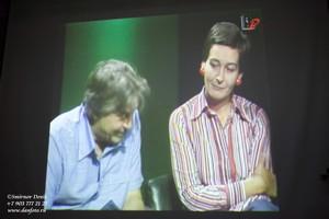 Ю.Любимов на фестивале БИТЕФ в Белграде