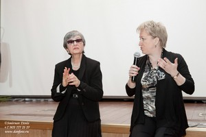 К.Любимова и директор Фонда Е.Смирнова